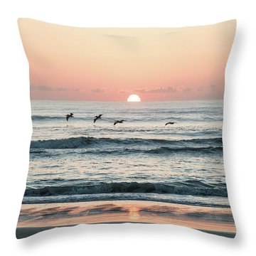 Looking For Breakfest Throw Pillow