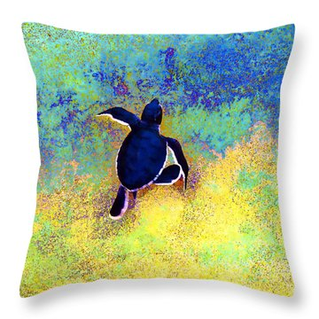 Freedom At Last Throw Pillow
