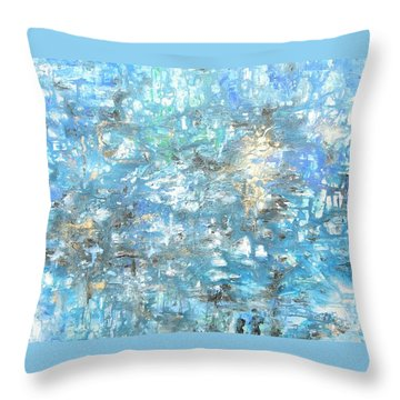 Looking For Heaven Throw Pillow