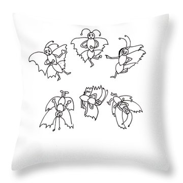 Looking For Lost Spots Throw Pillow