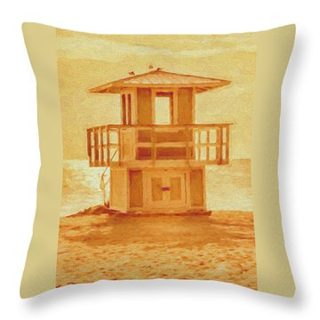 Looking For Summer Throw Pillow