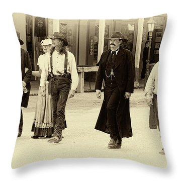 Looking For Trouble Throw Pillow