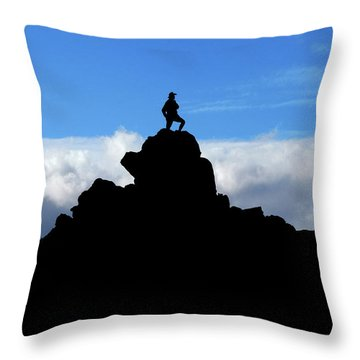 The Summit Hunter Throw Pillow