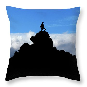 The Summit Hunter Throw Pillow