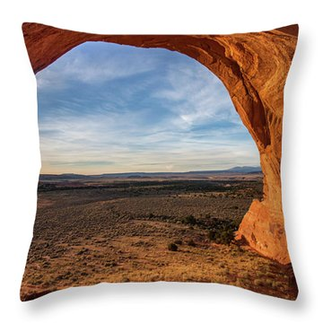 Looking Glass Arch Throw Pillow