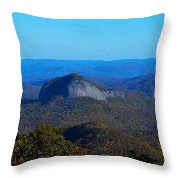 Looking Glass Rock Throw Pillow