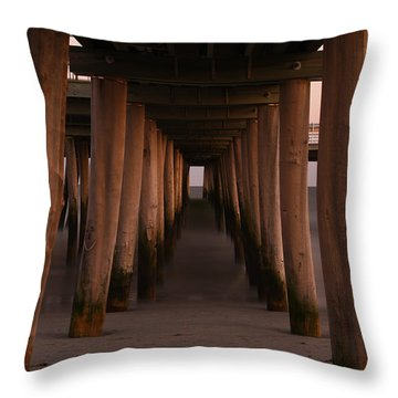 Looking Into Infinity Throw Pillow