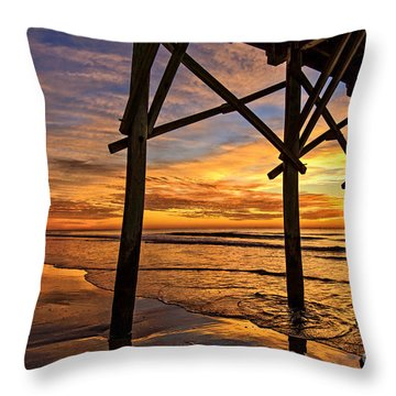 Looking Out Throw Pillow