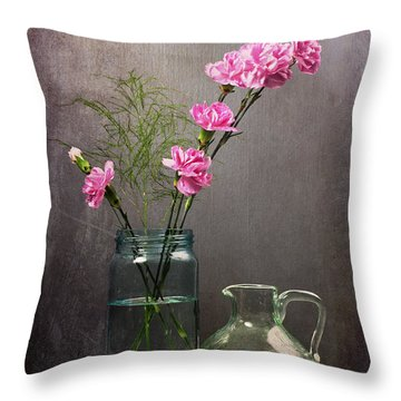 Looking Pretty For You Throw Pillow
