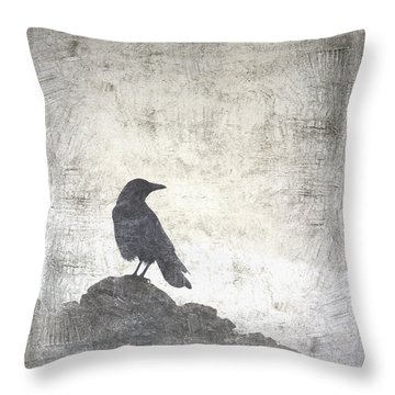 Looking Seaward Throw Pillow