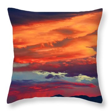Looking To Boulder Throw Pillow by James BO  Insogna