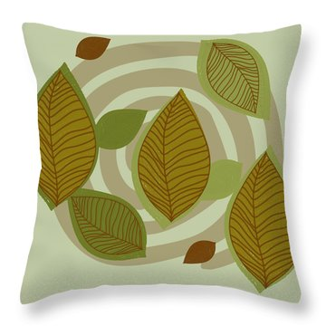 Looking To Fall Throw Pillow by Kandy Hurley