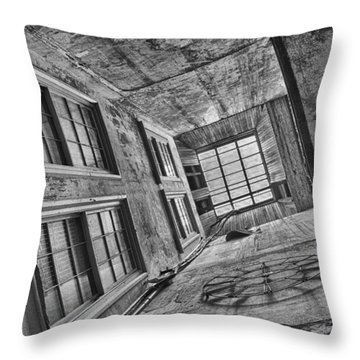 Looking Up Throw Pillow by Patricia Schaefer