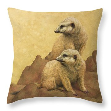 Lookouts Throw Pillow