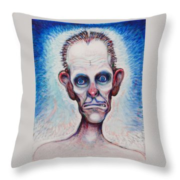 Looks A Fright Throw Pillow