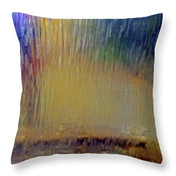 Throw Pillow featuring the photograph Looks Like Rain by Nareeta Martin