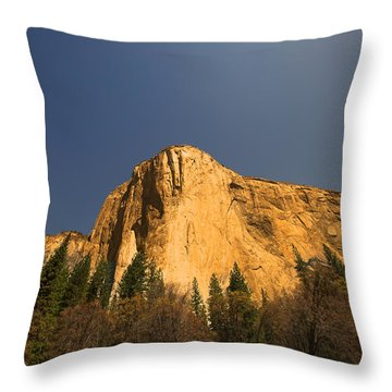 Looming El Capitan  Throw Pillow