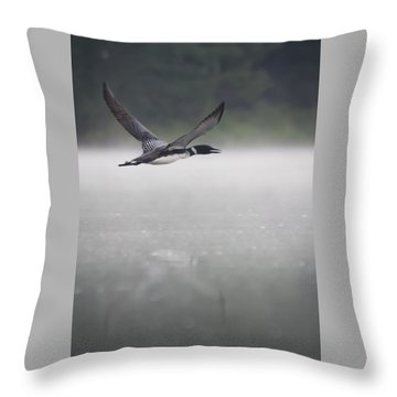 Loon 2 Throw Pillow