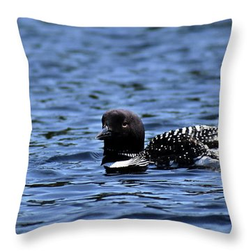 Loon Pan Throw Pillow