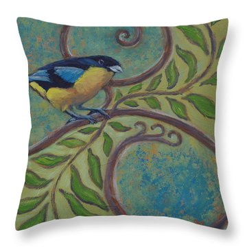 Loopty Do Throw Pillow