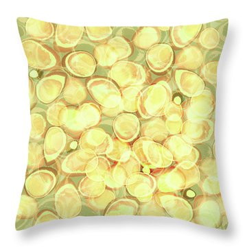 Loopy Dots #3 Throw Pillow