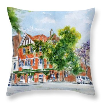 Lord Dudley Hotel Throw Pillow
