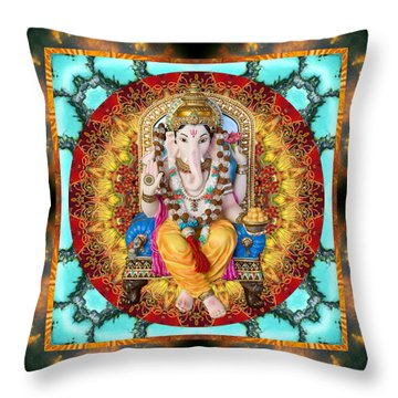 Throw Pillow featuring the photograph Lord Generosity by Bell And Todd