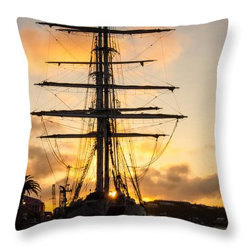 Lord Nelson Sunrise Throw Pillow
