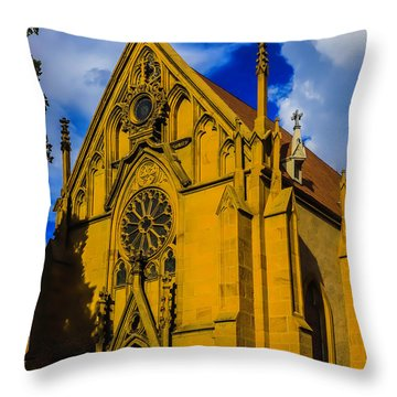 Loretto Chapel Santa Fe Throw Pillow