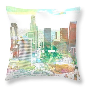 Los Angeles, California, United States Throw Pillow