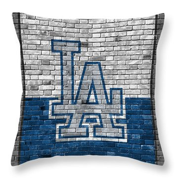 Los Angeles Dodgers Throw Pillows
