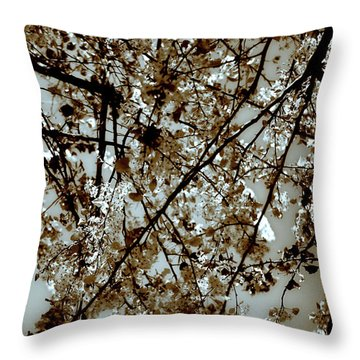 Branch Two Throw Pillow