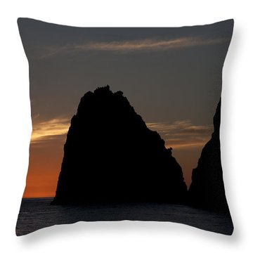 Los Cabos Sunset Throw Pillow
