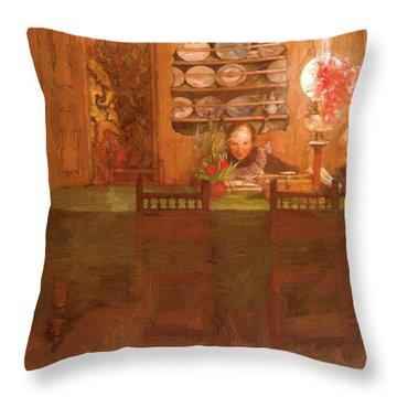 Los Deberes 1898 Throw Pillow