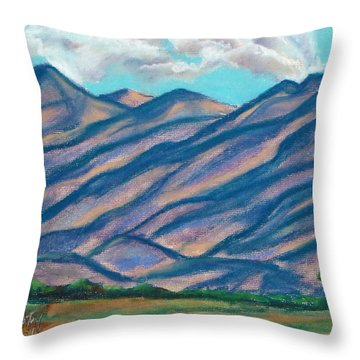 Los Lunas Hills Throw Pillow