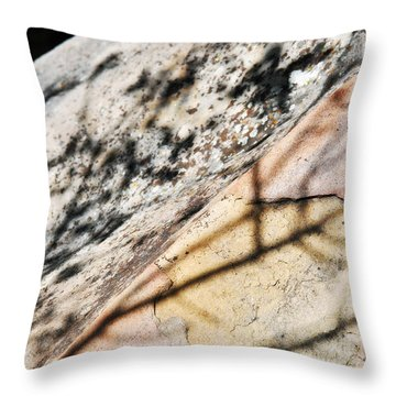 Throw Pillow featuring the photograph Los Padres Stone by Kyle Hanson