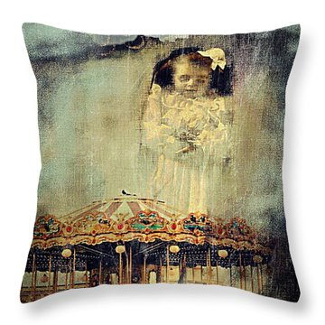 Loss Of Diety Throw Pillow