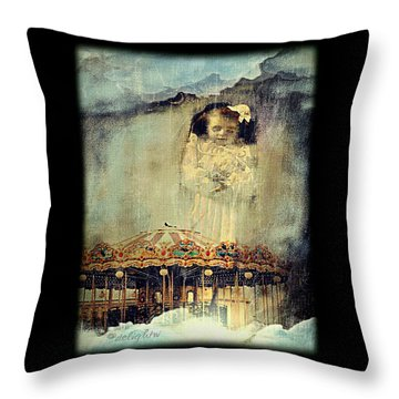 Throw Pillow featuring the digital art Loss Of Diety by Delight Worthyn