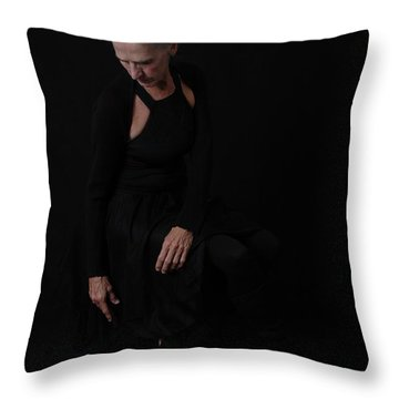 Throw Pillow featuring the photograph Loss Of Joy by Nancy Taylor