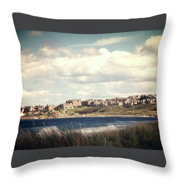 Lossiemouth Throw Pillow