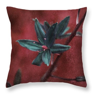 Lost Among Weeds Throw Pillow