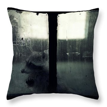 Lost Animals -  Series Nr.3 Throw Pillow
