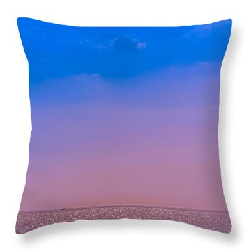 Lost At Sea Throw Pillow by Claudia M Photography