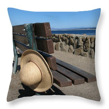 Lost Hat Throw Pillow