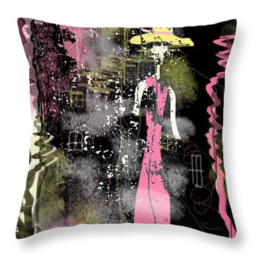 Lost Heart Throw Pillow by Sladjana Lazarevic