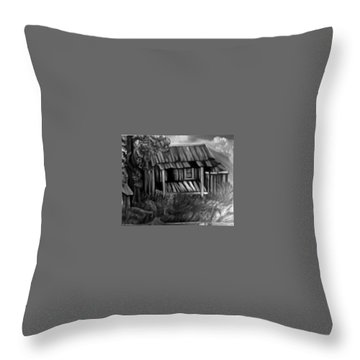 Lost Home Throw Pillow by Mildred Chatman