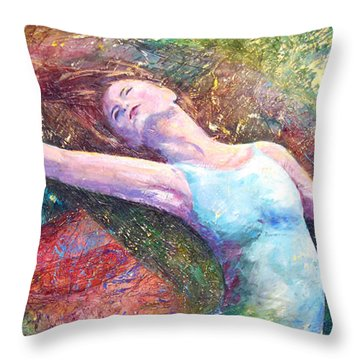 Lost In Dance  Throw Pillow