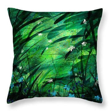 Lost In Paradise Throw Pillow by Rachel Christine Nowicki