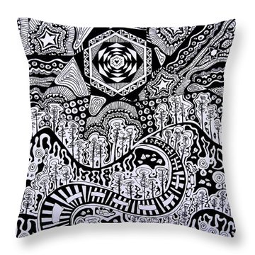 Lost In The Pilliga Throw Pillow