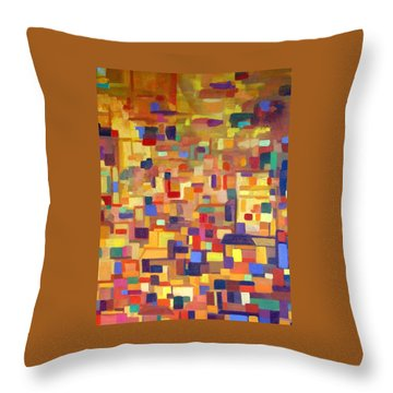 Lost In The Souk Throw Pillow